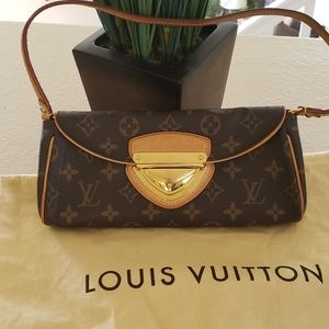 Authentic Louis Vuitton Beverly Clutch